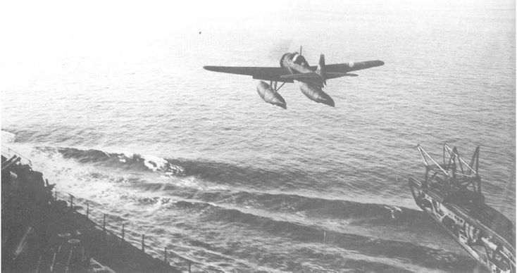On the morning of Sept. 9, 1942, the Japanese submarine I-25 surfaces off the Oregon coast, launching an E14Y (Glen) floatplane. Chief Warrant Officer Nobuo Fujita and Petty Officer Shoji Okuda took off, loaded with two 160-pound incendiary bombs with the intent to cause a wildfire and spread panic. Fujita's bombs set two small fires on Mount Emily near Brookings, Oregon, but did little damage as rain had saturated the forest.