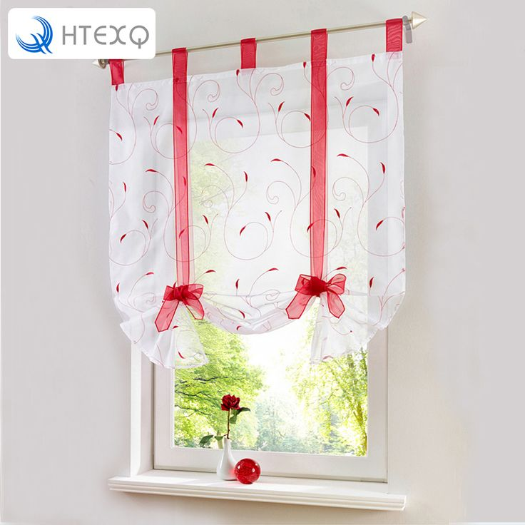 Find More Curtains Information about New Roman Leaf Tulle Window Treatments Sheer Curtains for Living Room the Bedroom Kitchen Tyra Panel Draperies and Blinds drapes,High Quality curtain tape,China curtain wall spider fittings Suppliers, Cheap curtain sheer from HTEXQ Factory Store on Aliexpress.com