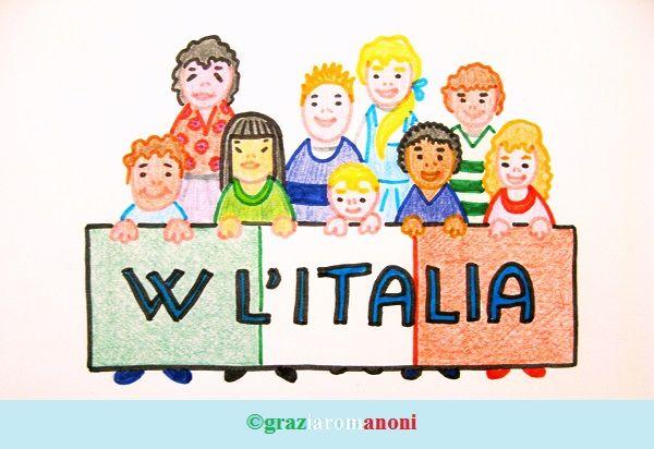 Buongiorno e buona Pasquetta. Oggi siamo ... italiani! #italiani #essereitaliani #alfabeto #alfabetoperbambini #bambini #mondofantastico Mondo Fantastico http://www.mondofantastico.com/index.php/lalfabeto-italiano-come-italiani/