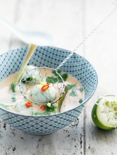 Thaise Soep met Visballetjes