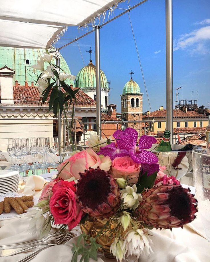 A cocktail in the sky #Venice #Venezia #SkyLounge #SpecialOccasion