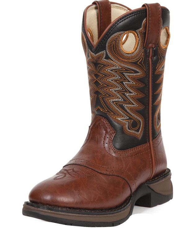 Rebel by Durango Boys Dusk & Black Saddle Western Boots BT200