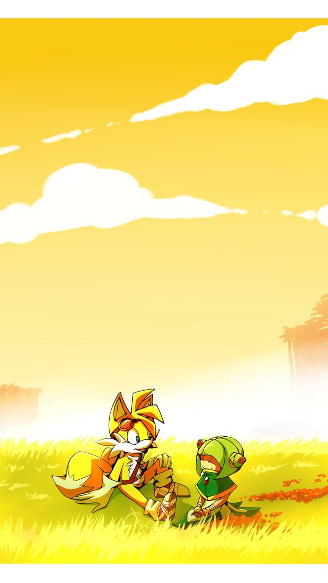 Sonic Boom: Tails and Cosmo. by Cheroy on DeviantArt