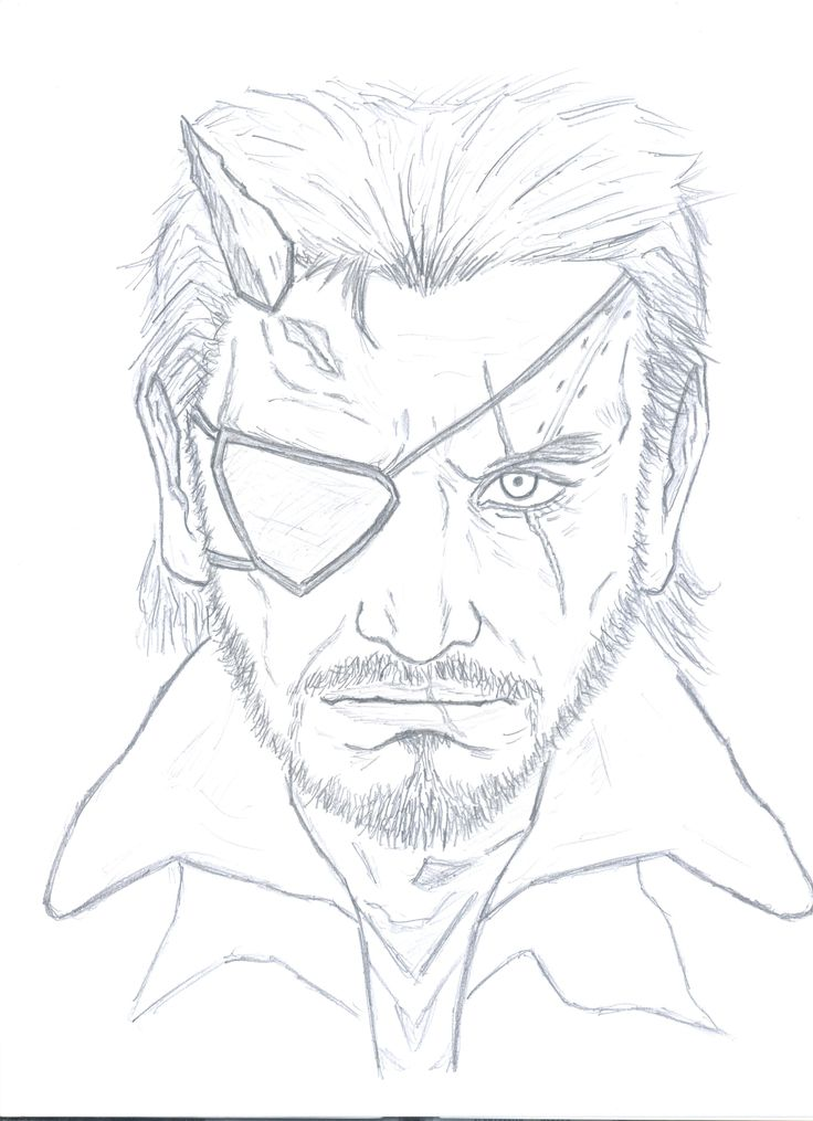 Big Boss Metal gear