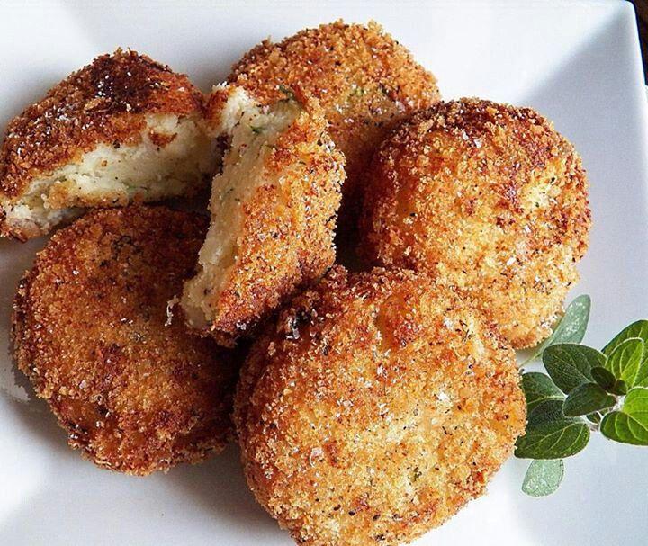 Parmesan Potato Croquettes