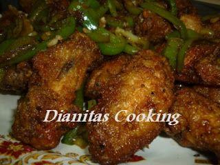 dianitas cooking: Πικάντικες Φτερούγες Κοτόπουλο!!!