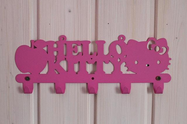 Hello Kitty Bathroom Hanger.