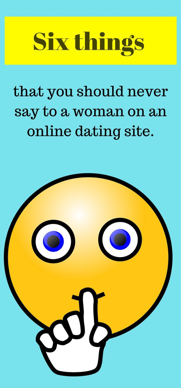 How to say on dating sites