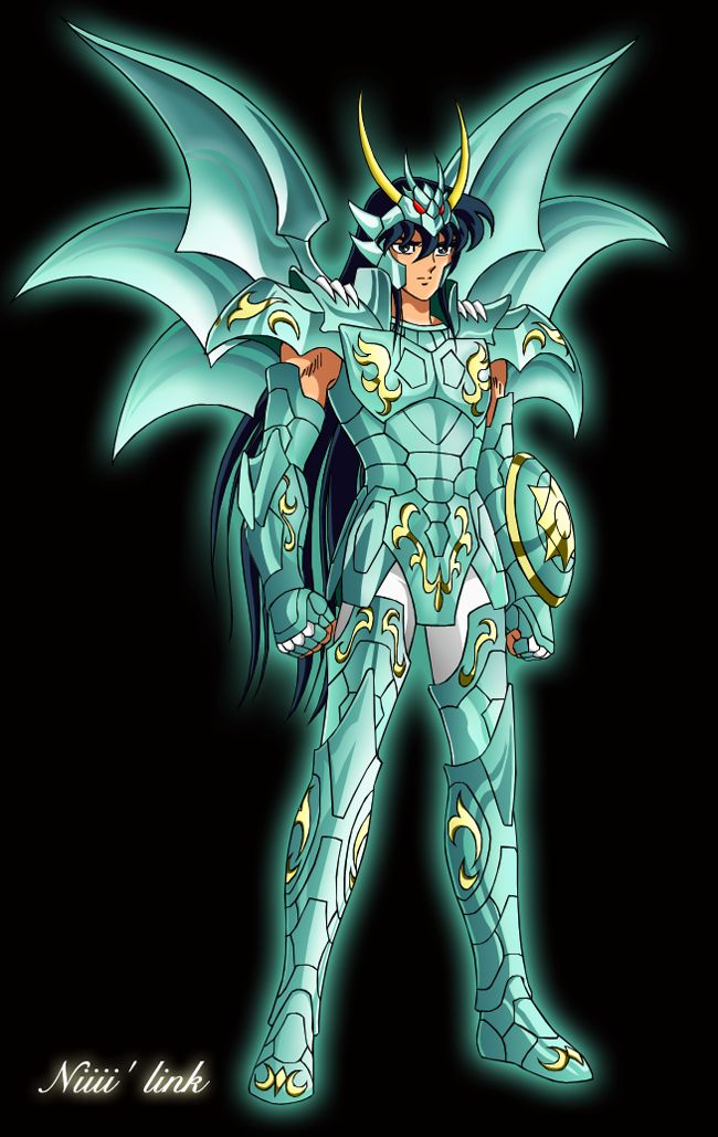Shiryu du Dragon en Armure divine . Chapitre Hadès