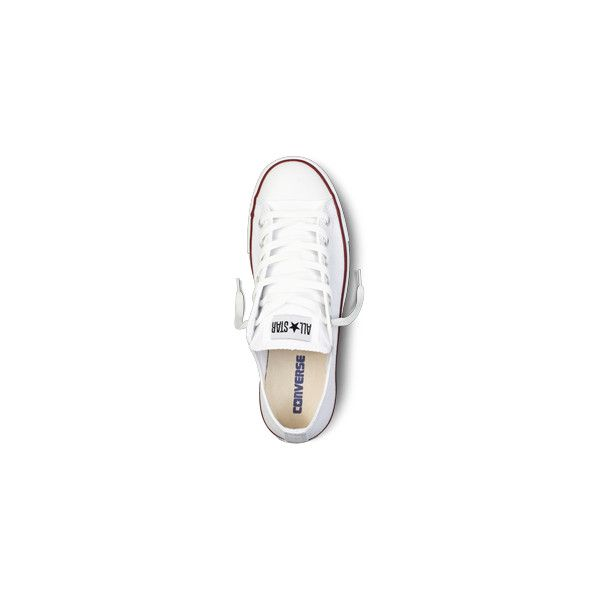 White Chuck Taylor All Star Shoes : Converse Shoes | Converse.com (€44) ❤ liked on Polyvore featuring shoes, sneakers, converse, zapatos, converse shoes, white trainers, white sneakers, converse sneakers and star shoes