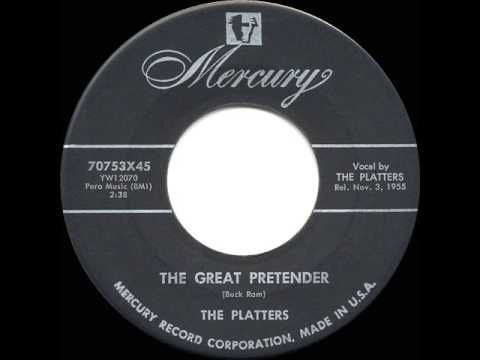 If you were born in 1956, your folk's radio in the car would have been broadcasting an early (almost) Doo-Wop song from The Platters who brought us 'The Great Pretender' - it went to No 1 that year.