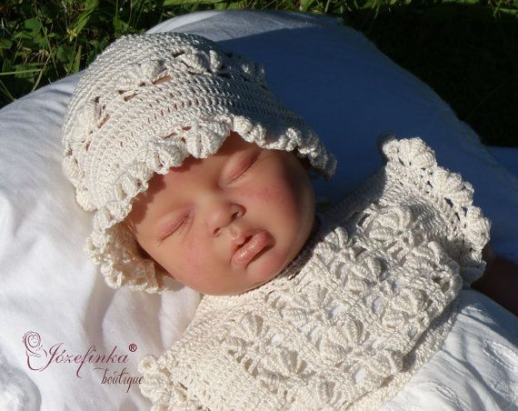Baby Hats in handmadeBaby Hats for girlsBaby by JozefinkaBoutique
