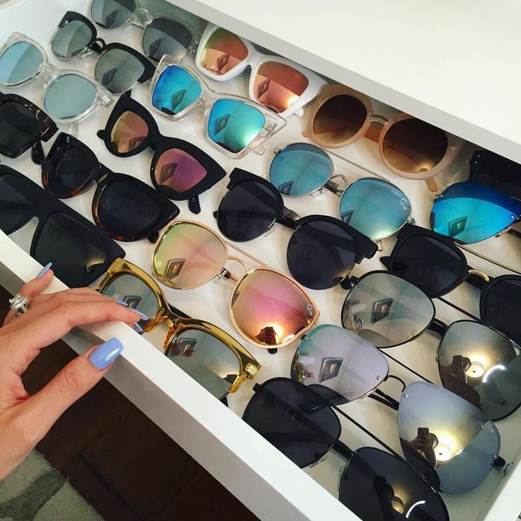 ✨Drawer of lux sunglasses✨