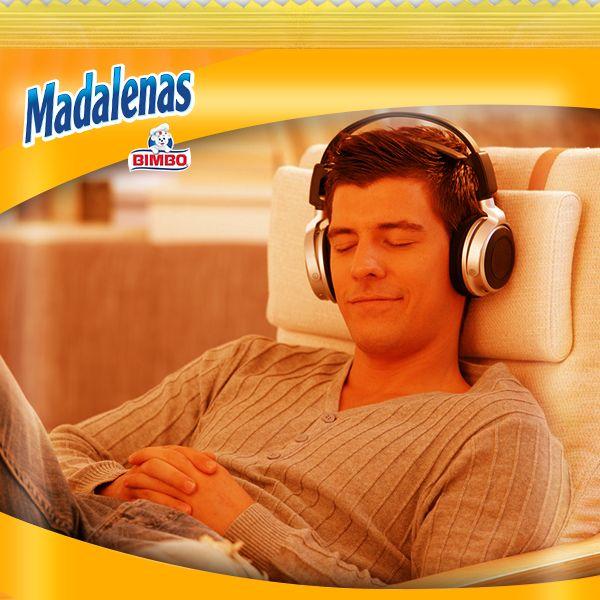 Madalenas sabe a… escuchar tu canción favorita una y otra vez.
