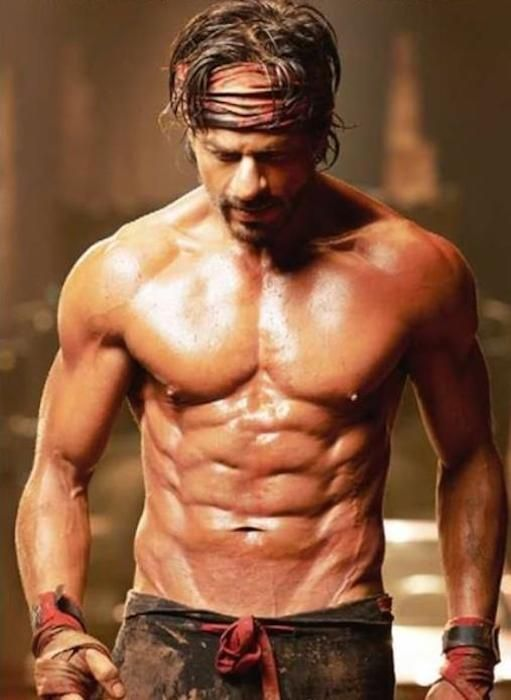 Shahrukh Khan's body for Happy New Year... Like and Repin. Thx Noelito Flow. http://www.instagram.com/noelitoflow