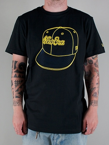 NEW ERA  CAPPED TEE  T-shirt Manica Corta - black  € 32,00  MORE INFOS: http://www.moveshop.it/ecommerce/index.php/it/articolo/25194/5224/CAPPED%20TEE