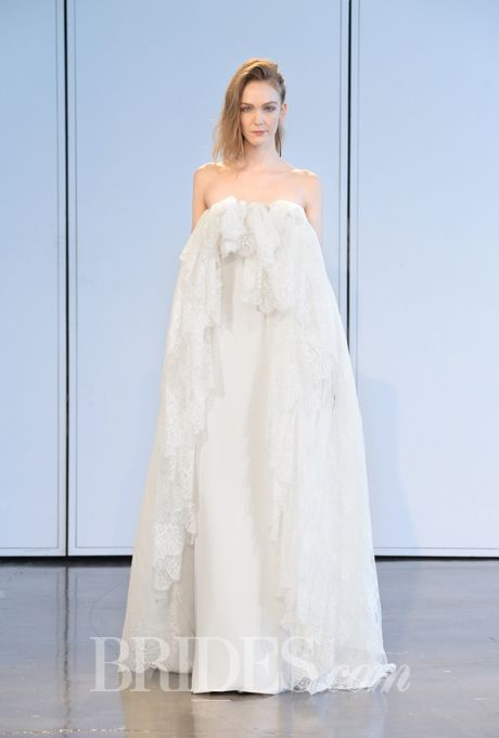 And they just keep coming from house of Haughten. Brides.com: . Wedding dress by Houghton