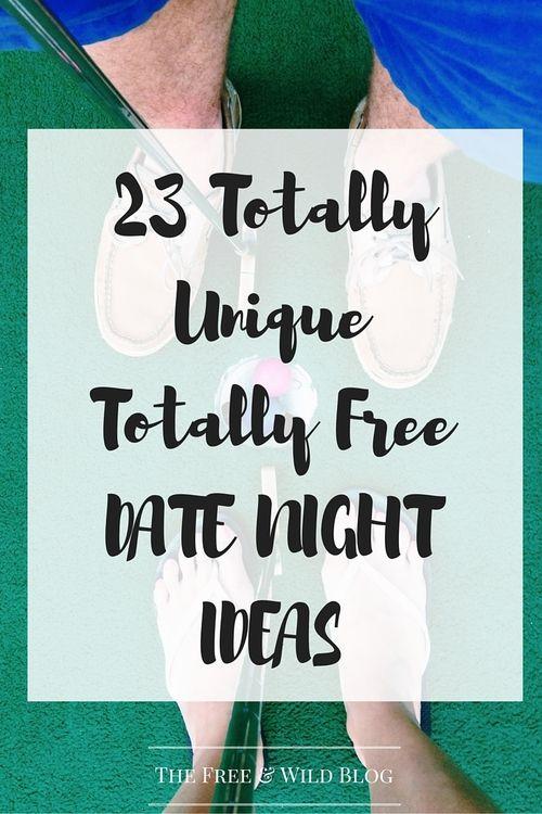 23 Unique Free Dates — The Free & Wild Blog