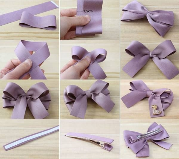 Making Your Hair Bow Credit : Lovehobbycraft