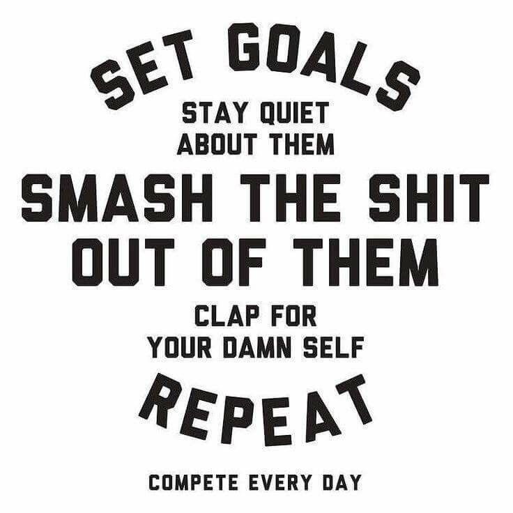 Goals! Pinned by Ryan Richard Gelatka ryangelatka.com