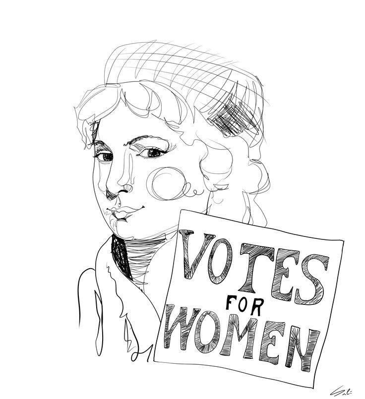 """Mary Wollstonecraft Figura fundamental de la filosofía feminista. Escribió el primer libro dedicado a los derechos sociales y políticos de las mujeres """"La Vindicación de los Derechos de la Mujer"""". También fue toda una pionera del sufragismo."""