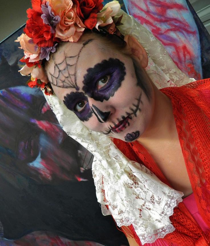 My Halloween makeup 2012