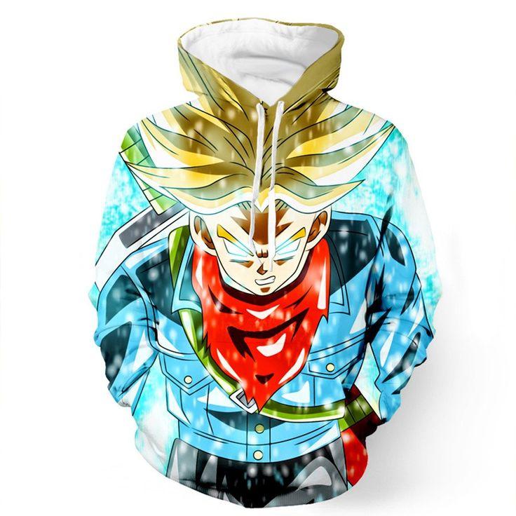 DBZ Trunk Super Saiyan God Blue Power Aura Sword Cool Design Hoodie - Saiyan Stuff  #DBZ #Trunk #Super #Saiyan #God #Blue #Power #Aura #Sword #Cool #Design #Hoodie