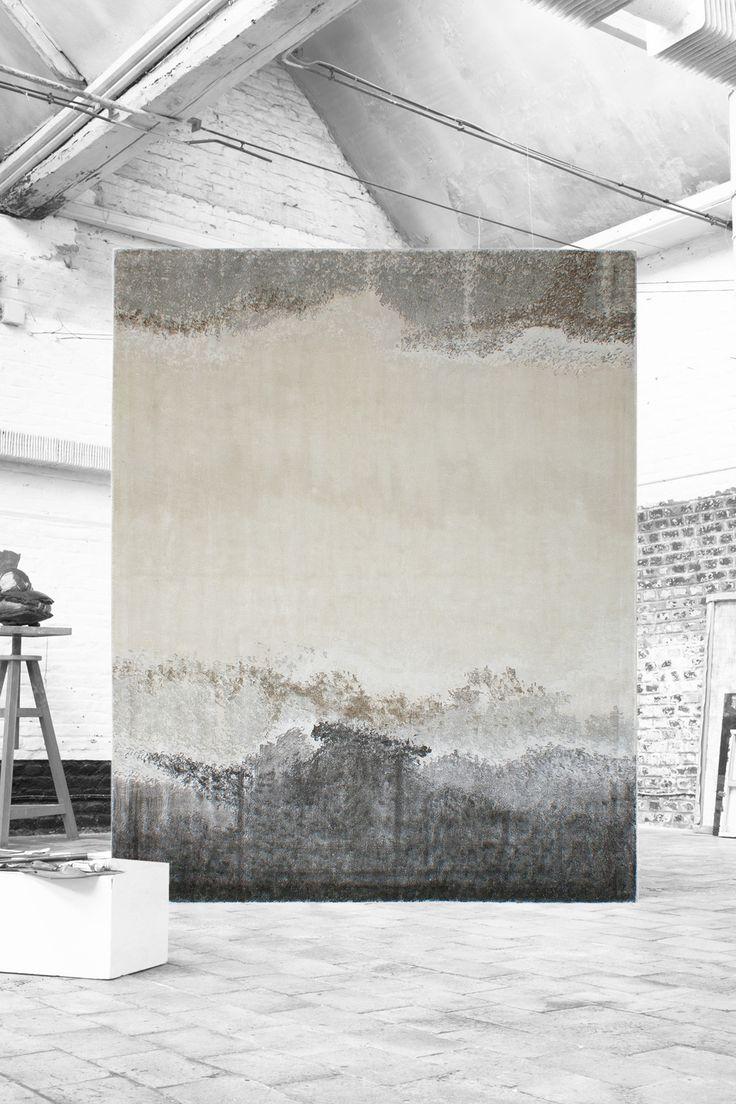 LAND carpet - #sergelesage - New - Handpainting - Autumn/Winter 17 Collection