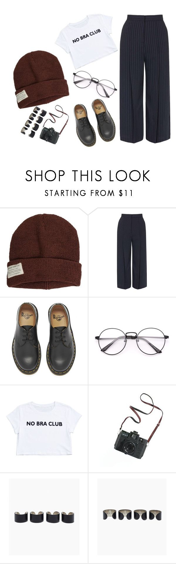"""""""49. It's been a long time coming"""" by unkemptly ❤ liked on Polyvore featuring Krochet Kids, Topshop, Dr. Martens, Madewell and Maison Margiela"""
