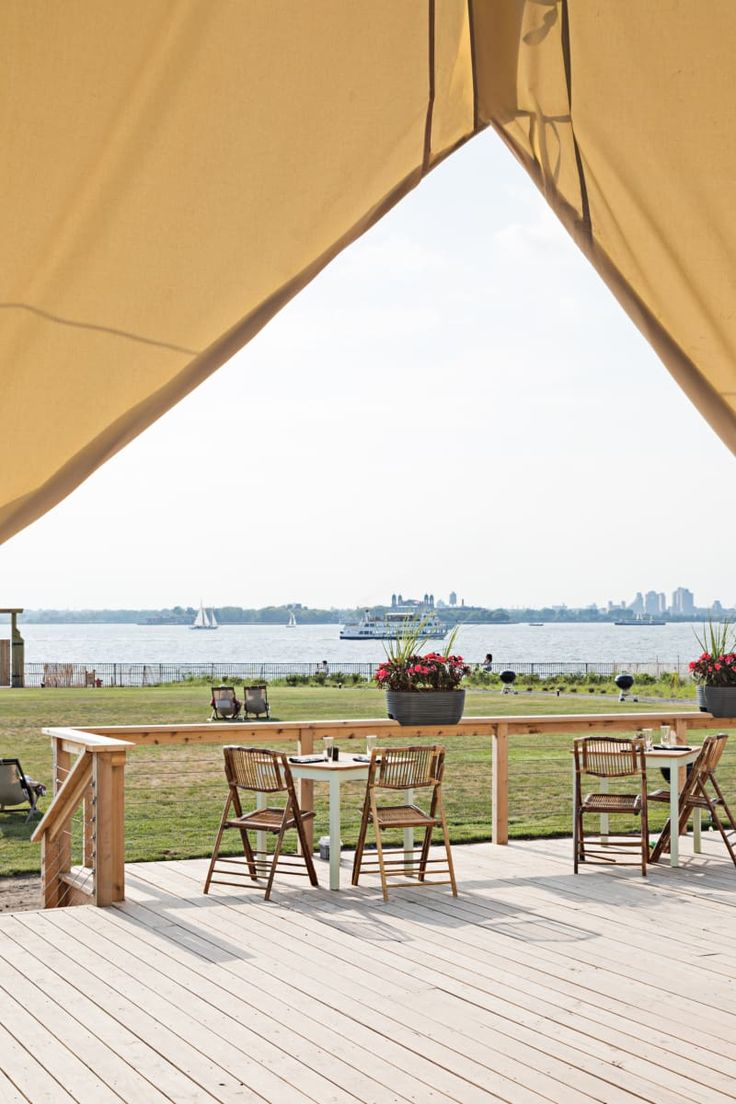 Collective Retreats Governor's Island Glamping Getaway