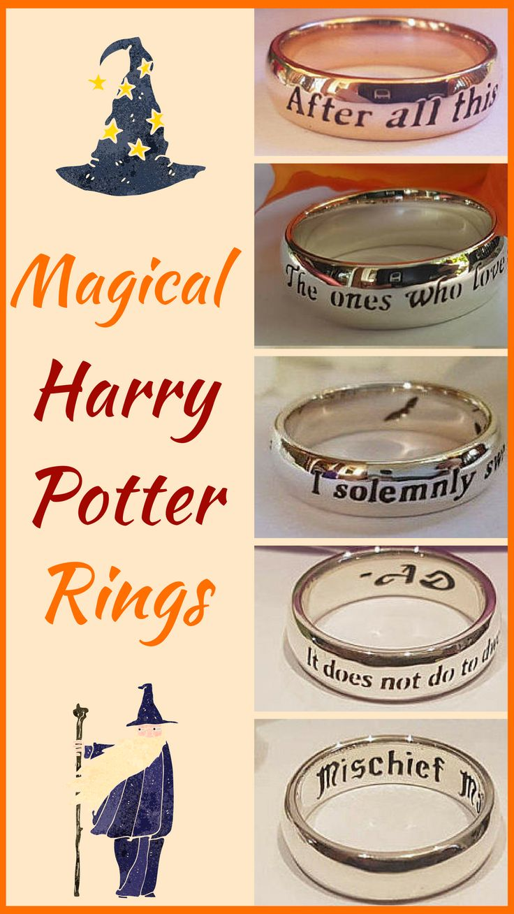 These Harry Potter Rings are so romantic and inspiring! I really wish I had the Dumbledore quote ring. So pretty!