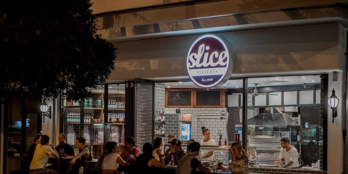 Slice Pizzeria in Burleigh Heads, QLD