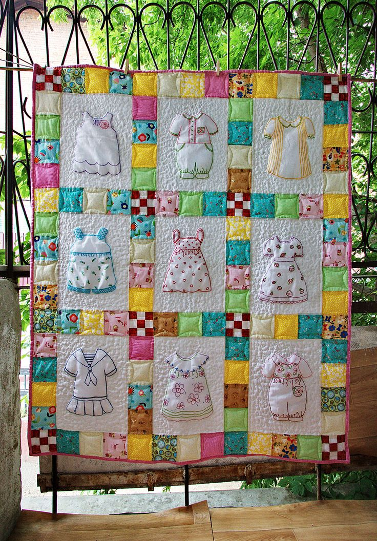 Quilting Panels Quilt Patterns : 17 Best images about doll dress quilts on Pinterest Cute aprons, Applique dress and Quilt