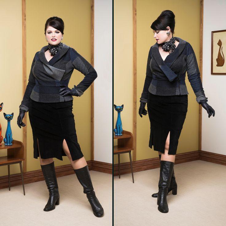 Boardroom Blazer & Siebert Pencil Skirt
