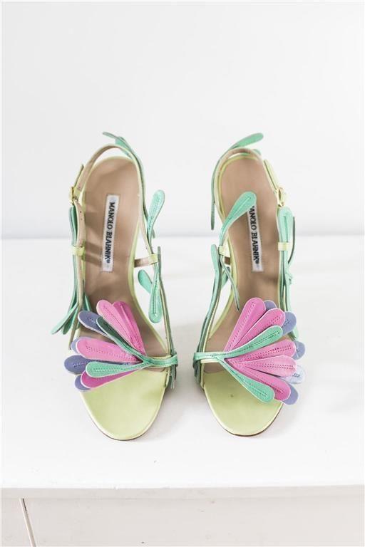 Skor från Manolo Blahnik på Tradera.com - Högklackade skor och festskor