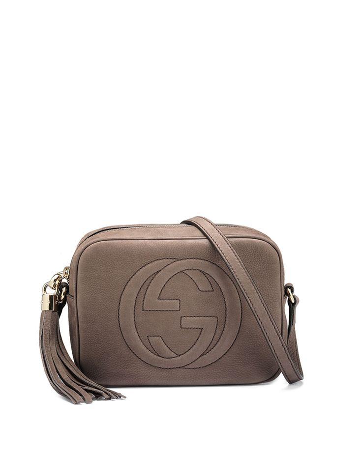 New Gucci GG Canvas Charm Sling Pochette - Handbags - GUC136351 | The RealReal