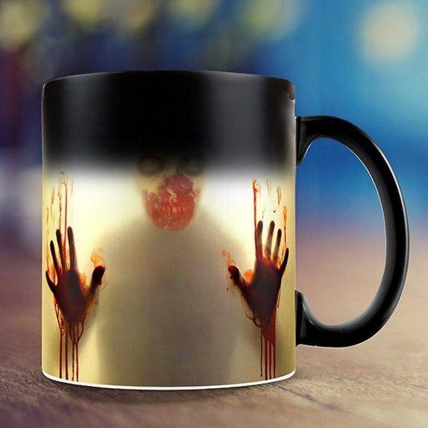 Mug Mort Vivant Zombie Thermoréactif