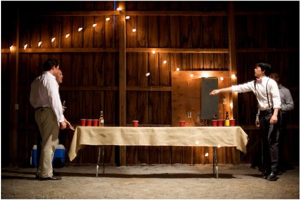 more beer pong weddings