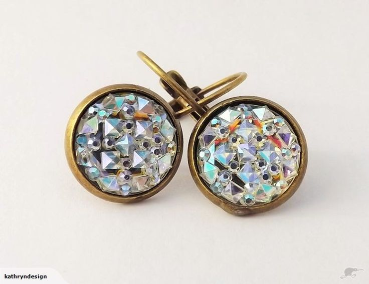 Sparkly Lever Back Earrings by Kathryn Design NZ Jewellery Retail for $5 NZD Great gift ideas