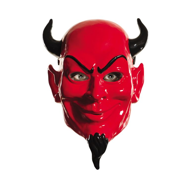 Máscara Diablo Rojo Scream Queens® #máscaras #antifaces