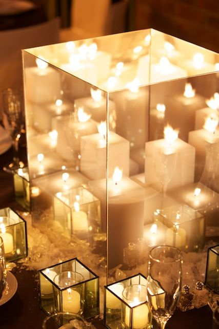 Gorgeous, and check out the site for more beautiful candlescapes
