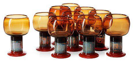 Kaj Franck, goblet glass, Finland