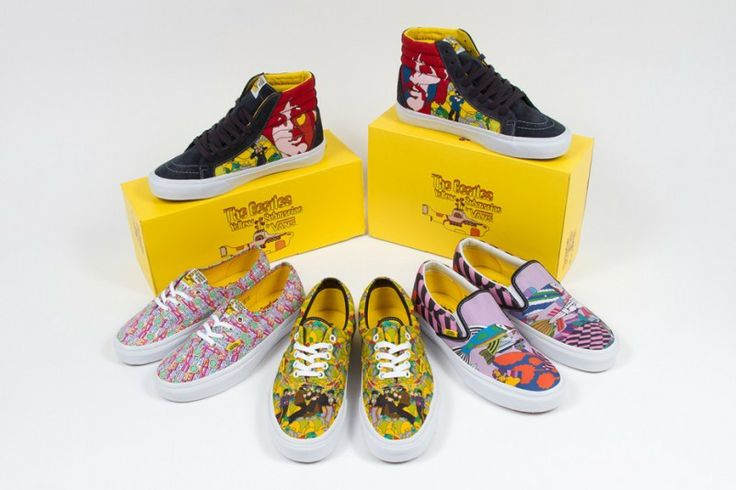 http://fashiontipsmen.blogspot.it/2014/02/i-beatles-ai-piedi-vans-for-beatles.html   The Beatles for Vans by Gianmarco Bo on @Sbaam http://sba.am/1u3jdan57pro