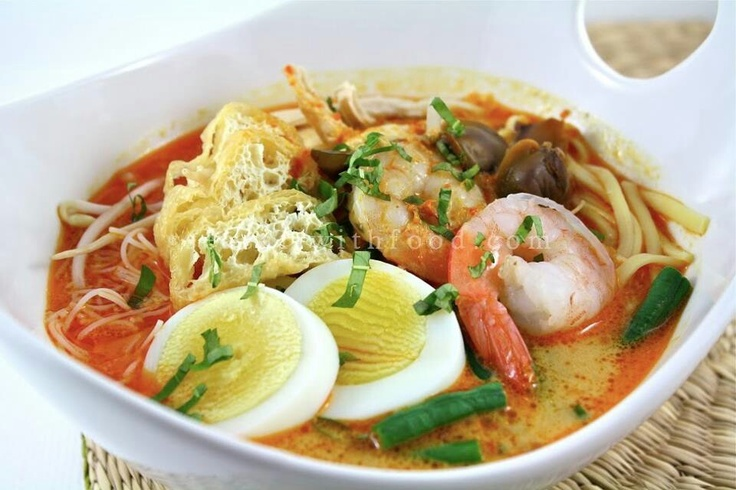 laksa, indonesian food