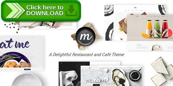 [ThemeForest]Free nulled download Morsel - A Delightful Restaurant and Café Theme from http://zippyfile.download/f.php?id=22325 Tags: bakery, blog, cafe, cooking, culinary, diner, drink, food, menu, modern, open table, portfolio, reservation, shop, sushi