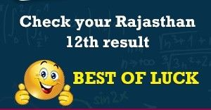 RBSE 12th Result 2016 Name wise, Rajasthan Board 12th name wise Results 2016