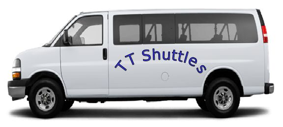 TT Shuttles are provides airport shuttle services is a convenient and cost effective way to travel to and from the airport.  We also offer private hire & charter services along with sight-seeing transportation.