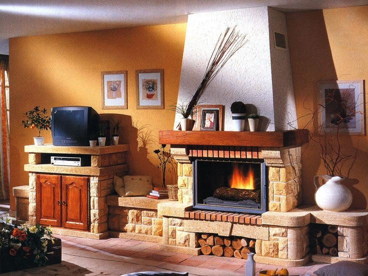 Quiberon - Seminee rustice de perete | Exclusiv Design - Apa&Foc