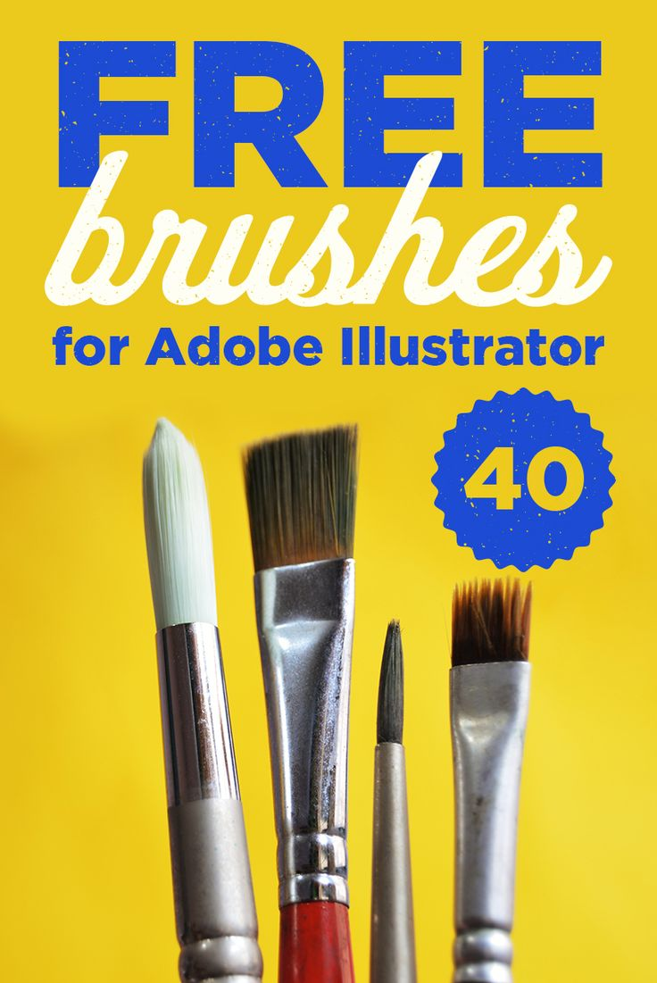 Download 40 Free brushes for Adobe Illustrator made by Guerillacraft. With one click you will get access to Linocut brushes, Chalk brushes and infinite Shaders and Scribbler brushes. Guerillacraft produces high-quality brushes for Adobe Illustrator, now you can get 40 premium brushes for FREE. Download free Adobe Illustrator Brushes now!