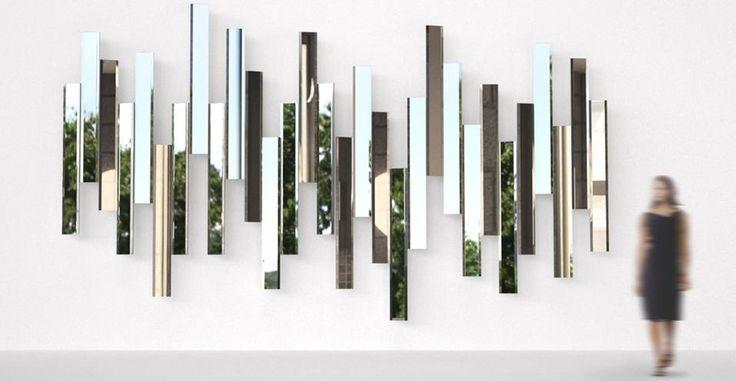 Decorare con gli specchi. Lo specchio Mirage di Lema, design Tokujin Yoshioka. Un complemento che unisce modernità e tradizione, un'innovativa interpretazione di un pezzo tradizionale che diventa opera d'arte.